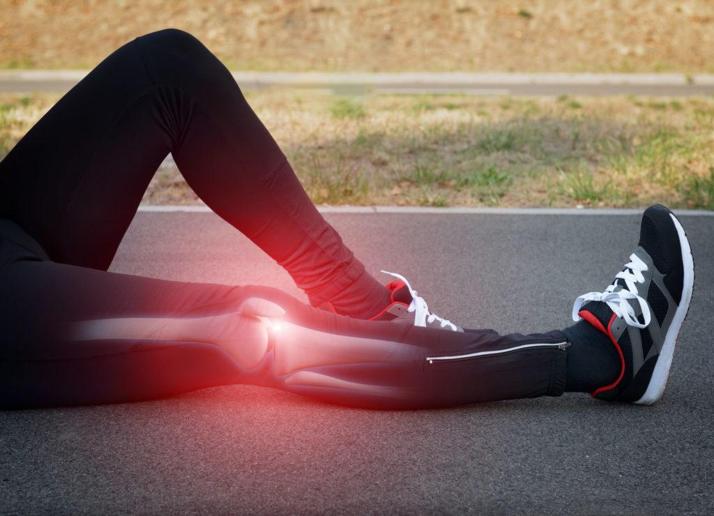 Inflamação no joelho