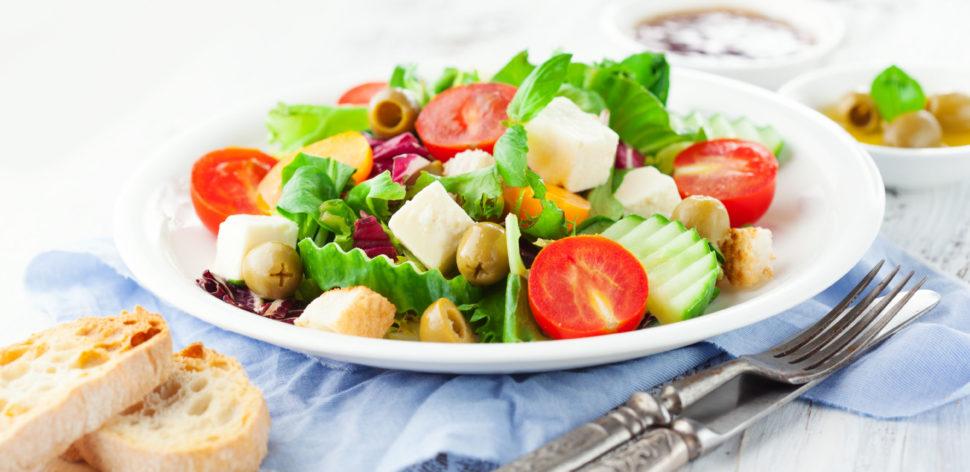 Veja essas receitas de saladas para emagrecer