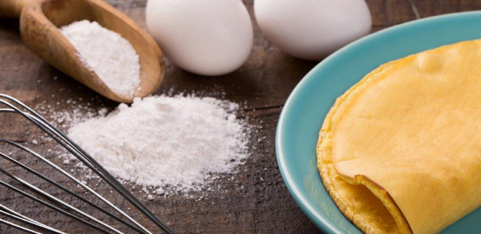 Receita de crepioca: duas opções para você escolher e saborear
