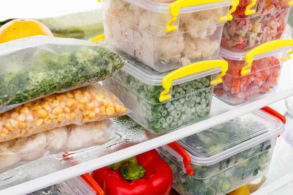 potes de plastico alimentos