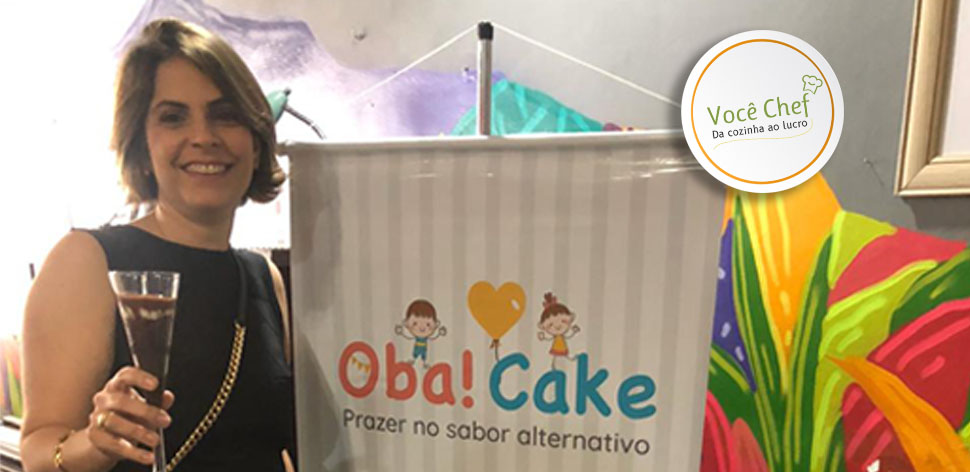 Oba!Cake: da medicina para os doces veganos