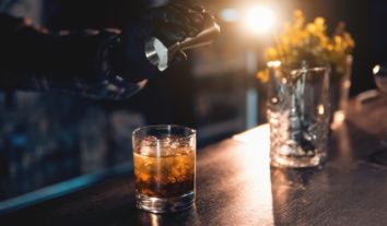 Bebida e experiência na casa do cliente