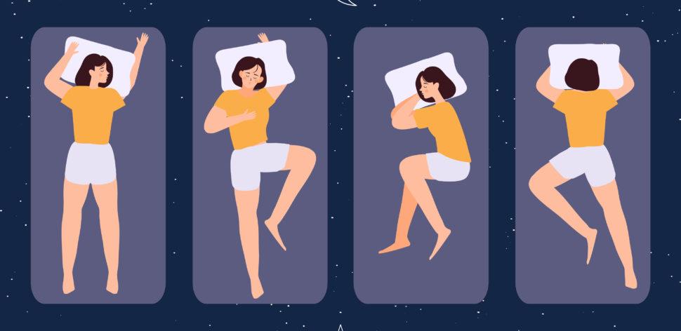 Existe posição ideal para dormir?