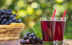 Suco de uva integral é saudável