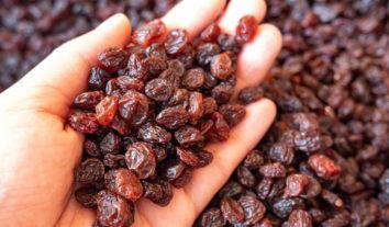 Festas de fim de ano: se você gosta de uva passa, cuidado!