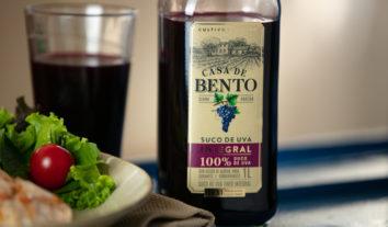 Suco de uva Casa de Bento traz selo PROTESTE